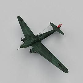 二战轰炸机3d模型