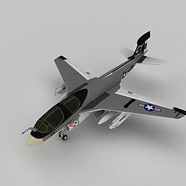 美国隐形战斗机3d模型