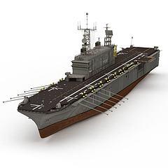 TARAWA航空母舰模型3d模型