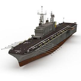 3dTARAWA航空母舰模型