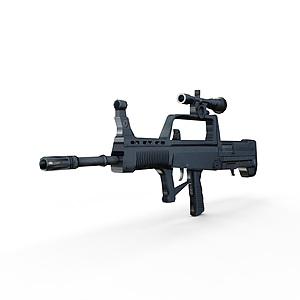 3d95式自动步枪模型