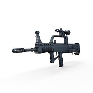 95式自动步枪3d模型