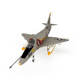 """美国""""天鹰""""攻击机3d模型"""