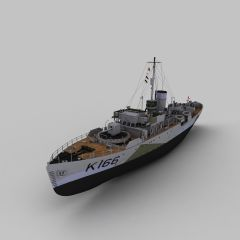 SBERRY军舰模型3d模型