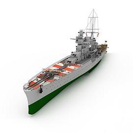 nanuchka军舰3d模型