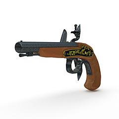 BUCCAN枪模型3d模型