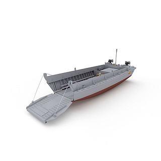 LCVP军用运输<font class='myIsRed'>船</font>3d模型
