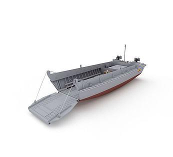 LCVP军用运输船