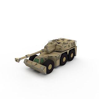 军用装甲<font class='myIsRed'>车</font>3d模型