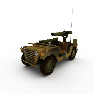 武装侦查<font class='myIsRed'>车</font>3d模型