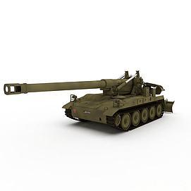 3d反<font class='myIsRed'>坦克</font>大炮模型
