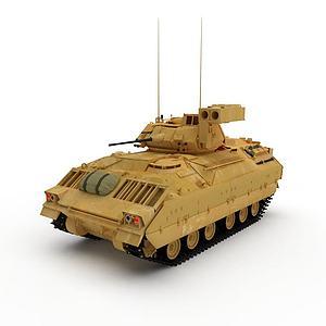 3d蘇聯T-80輕型坦克模型
