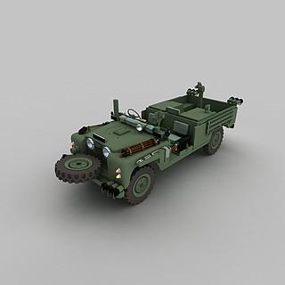 军队越野<font class='myIsRed'>车</font>3d模型