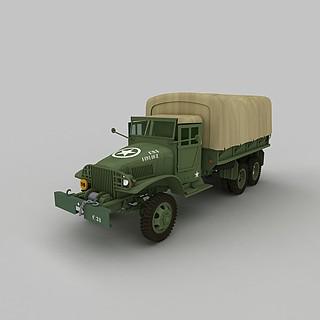 军用运输<font class='myIsRed'>车</font>3d模型