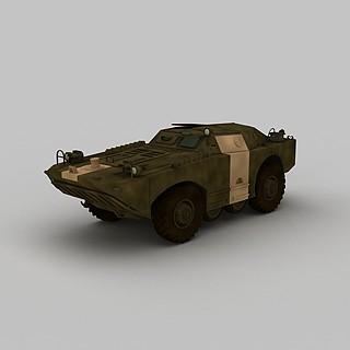 防爆装甲<font class='myIsRed'>车</font>3d模型