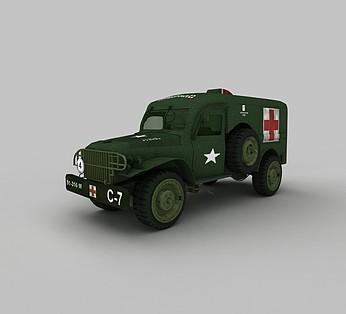 军用医护车