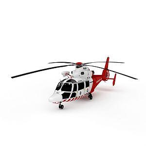 3dAS365海豚<font class='myIsRed'>直升機</font>模型