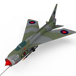 3d军事战斗机模型