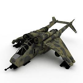 3d喷气式<font class='myIsRed'>飞机</font>模型