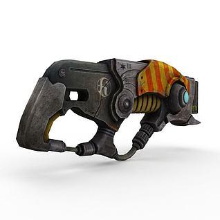 克拉斯特枪3d模型