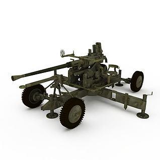 德国二战机关枪3d模型