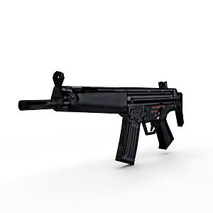 3dHK53短卡宾枪模型