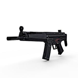 HK53短卡宾枪3d模型