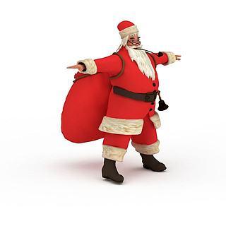 <font class='myIsRed'>圣诞</font>老人3d模型