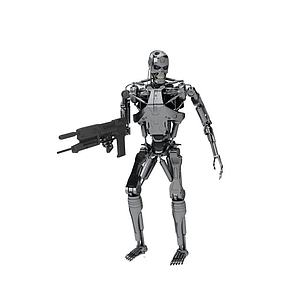 3d终结者<font class='myIsRed'>机器人</font>模型