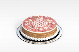 圆形<font class='myIsRed'>蛋糕</font>3d模型