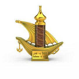 阿拉伯香水3d模型