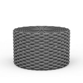 圆形藤椅3d模型
