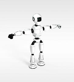3d移动<font class='myIsRed'>机器人</font>模型