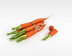 胡萝卜3D模型3d模型