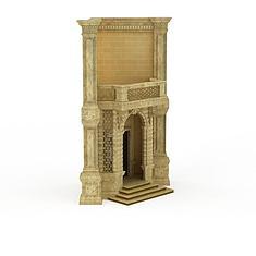 欧式建筑道具3D模型3d模型