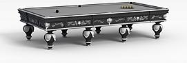 花式9球台球桌3d模型
