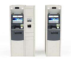 自动购票机模型3d模型