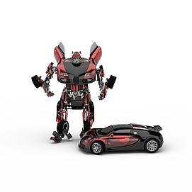 3d变形金刚汽车模型