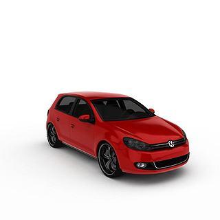 大众<font class='myIsRed'>汽车</font>3d模型