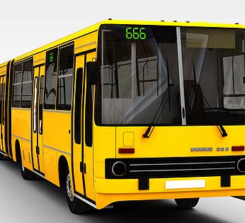 黄色公共汽车