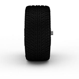 汽车轮胎3d模型