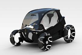 玩具代步车3d模型