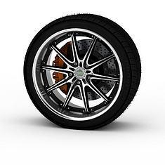 汽车轮胎3D模型3d模型
