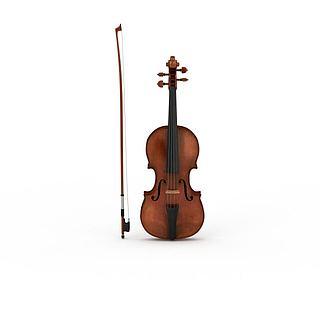 高档<font class='myIsRed'>云</font>杉木大提琴3d模型