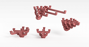 3d建筑裝飾構件模型