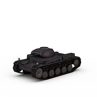 作战坦克3d模型3d模型