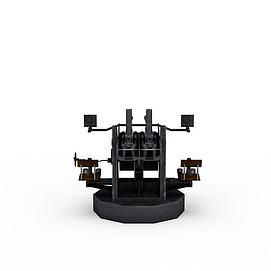 战斗机器3d模型