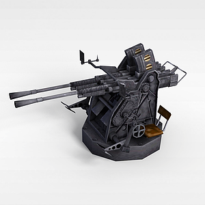3d戰斗機器模型