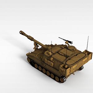 3dSU-152自行火炮模型