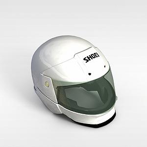 摩托車頭盔模型3d模型